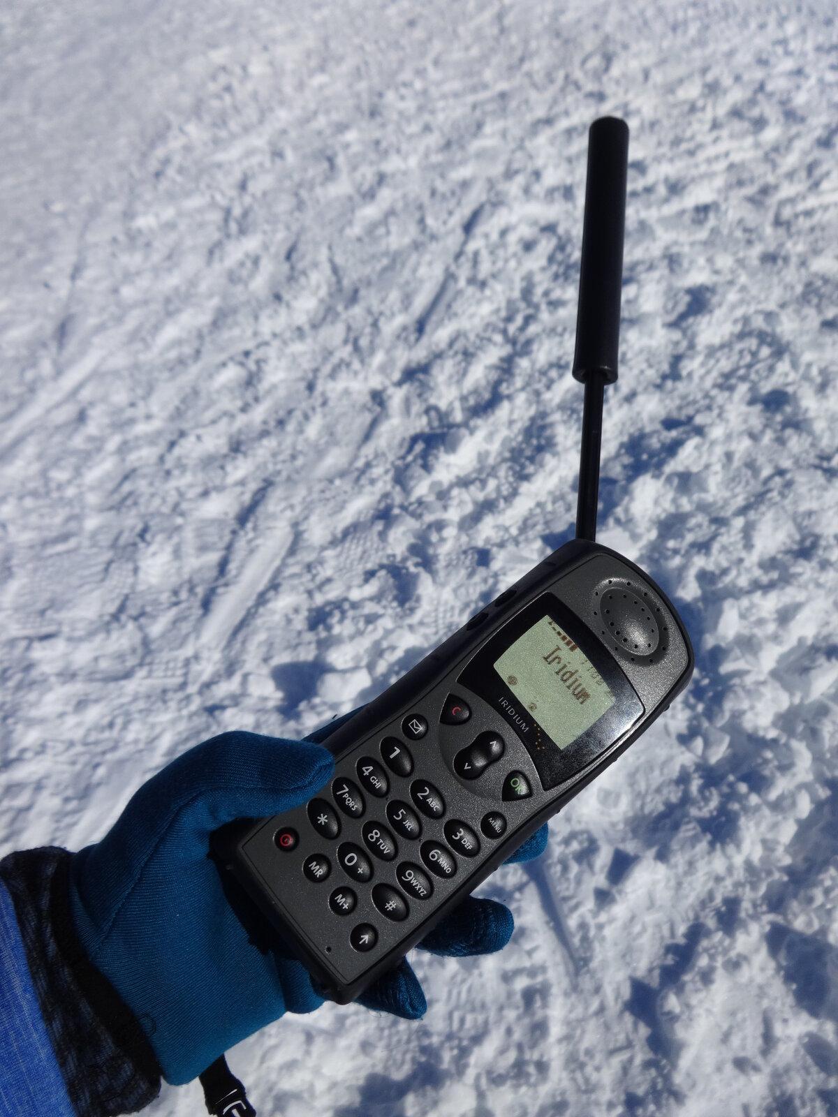 Iridium satellite phone