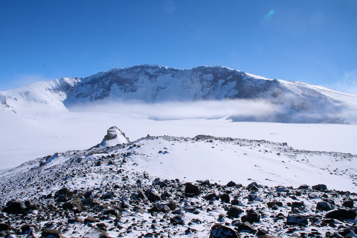 Mount Sidley 14,058 ft (4285 m) is Antarctica's highest volcano