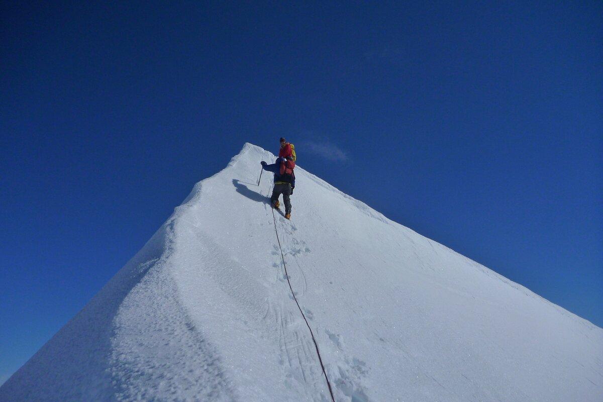 First ascent of Mount Allen