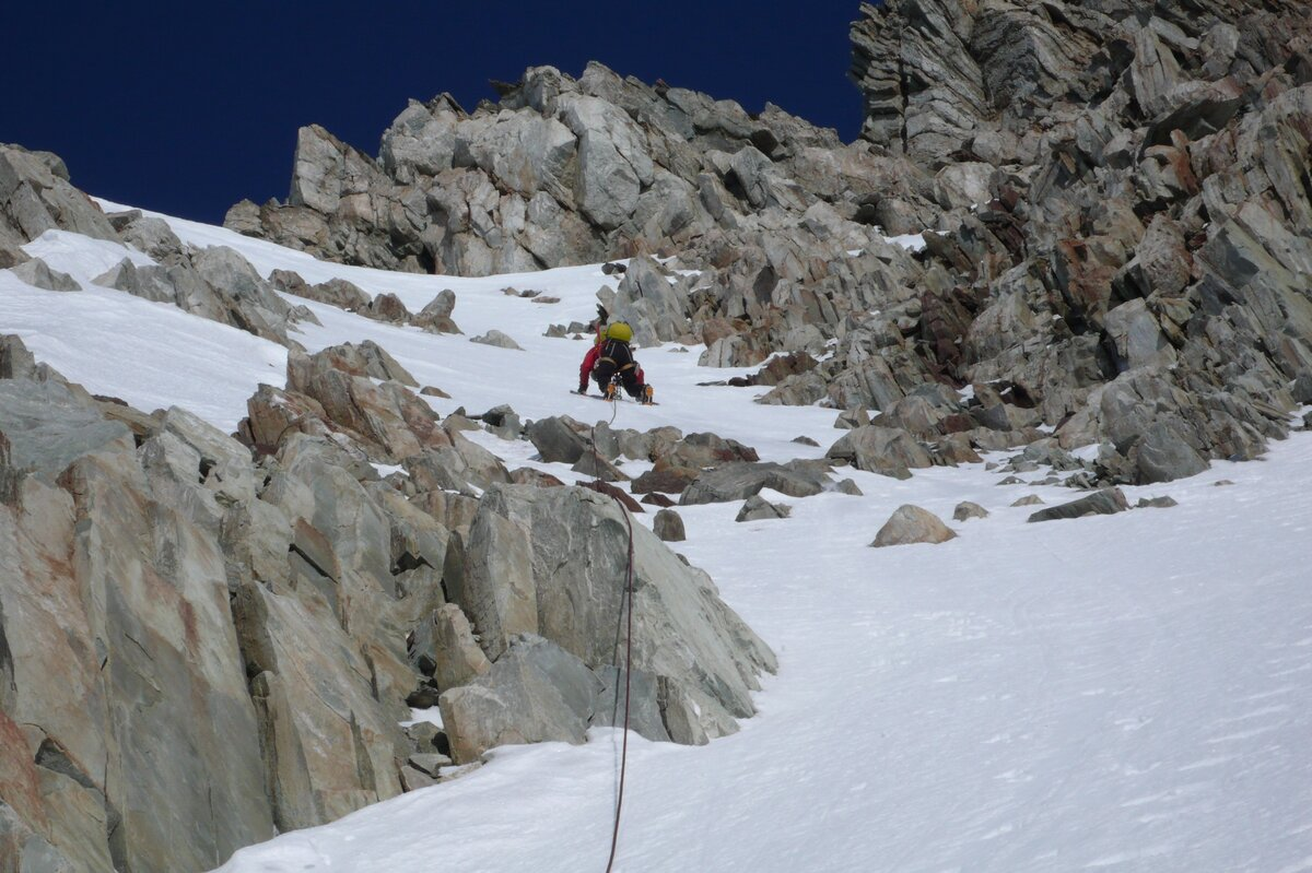 ALE guide leads Mount Liptak first ascent